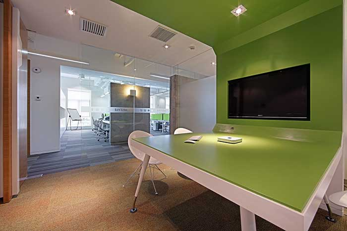 上海乐尚设计公司办公室装修