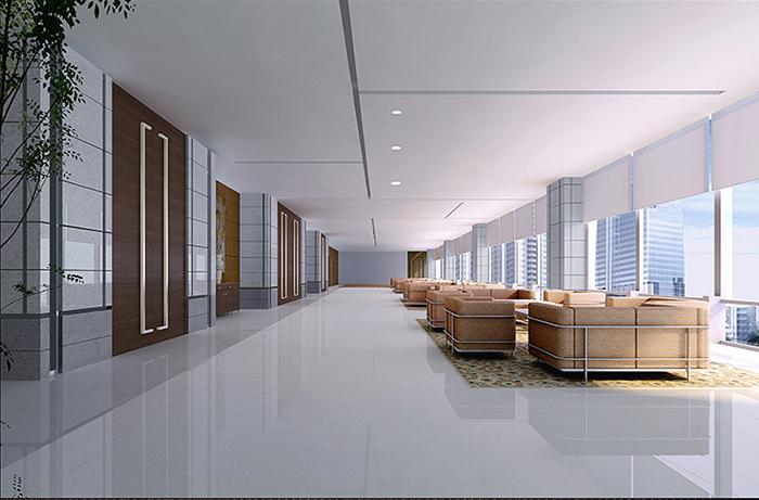 设计说明:本案为中国石油管理办公室装修设计.