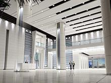 中国联通总部办公室装修
