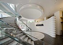 上海科勒展厅办公室装修设计