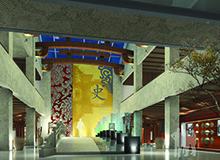 中国黄酒博物馆办公室装修