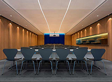 中铁物质集团办公室装修设计