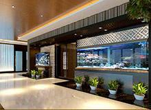 黄海城市花园七层办公室装修设计